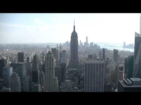 Vue de Manhattan depuis le Top of the Rock