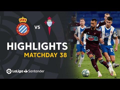 Espanyol Celta Vigo Goals And Highlights
