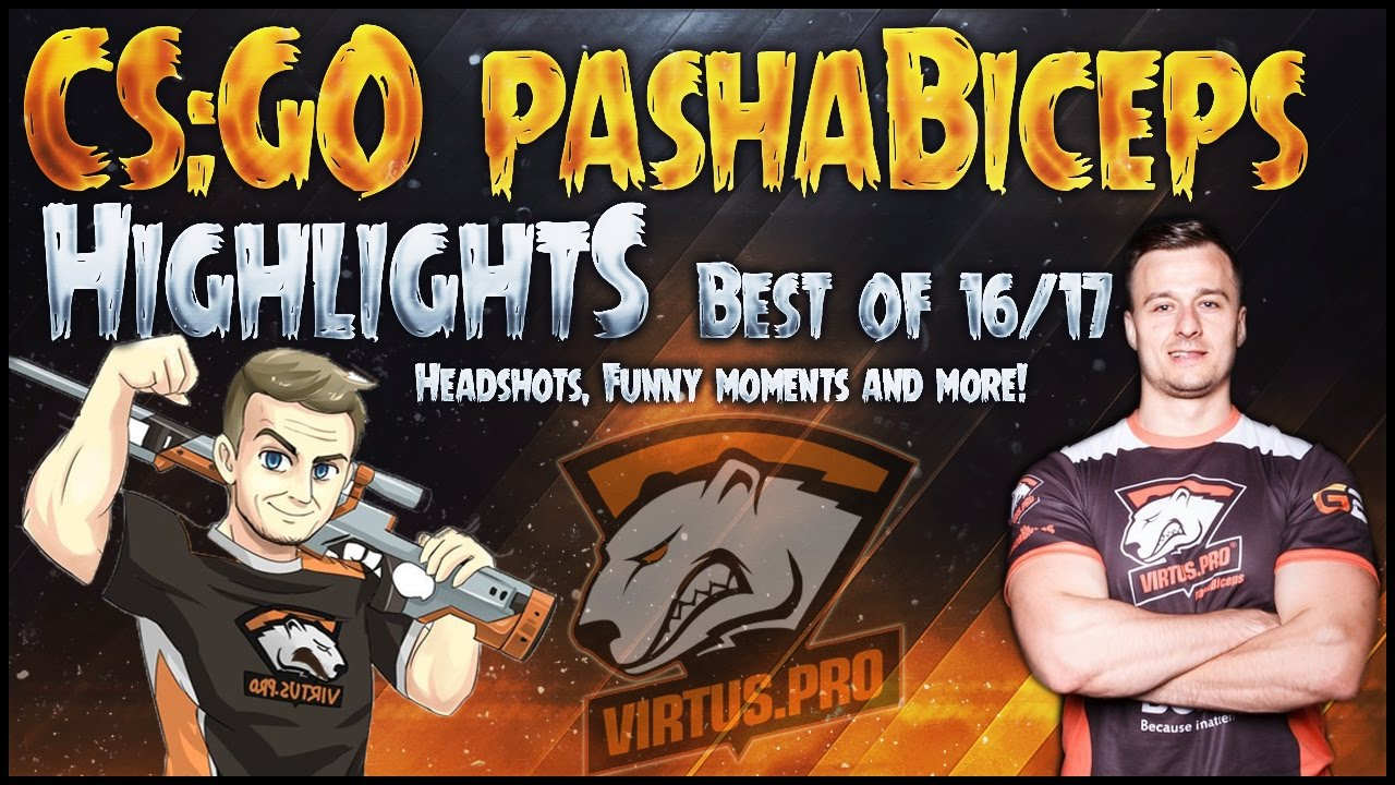CS:GO pashaBiceps HIGHLIGHTS 🔞 CS:GO BEST OF pashaBiceps ⛔FUNNY MOMENTS, CLUTCHES & MORE!🍀
