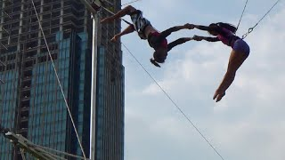 The Flying Trapeze: