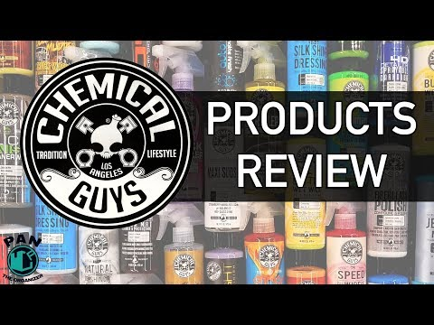 CHEMICAL GUYS Detailing Products : Brand Review !!
