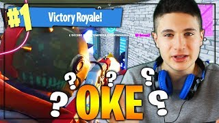 THE STRANGEST REAL VICTORY I'VE EVER DONE! Fortnite battle royale, oke