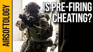 Is Pre-Firing in Airsoft Cheating? | Airsoftology Q&A Show