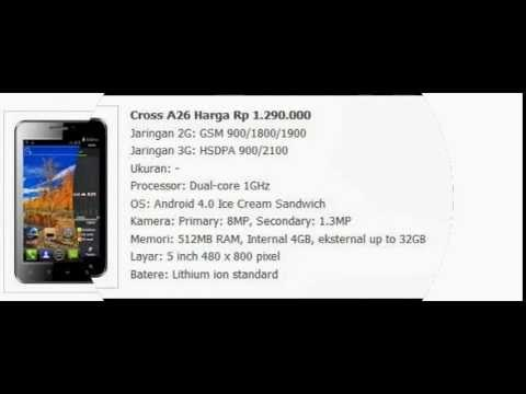Harga HP Cross Android
