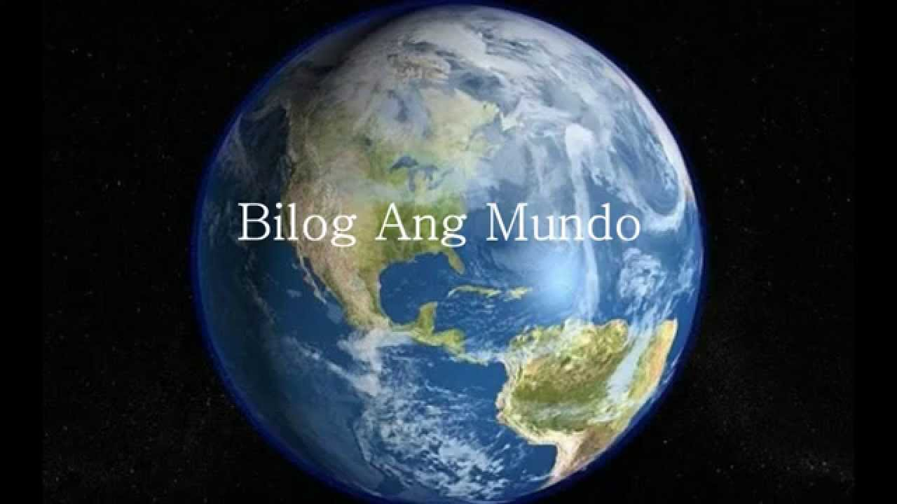 Bilog Ang Mundo By Manny Pacquiao Youtube