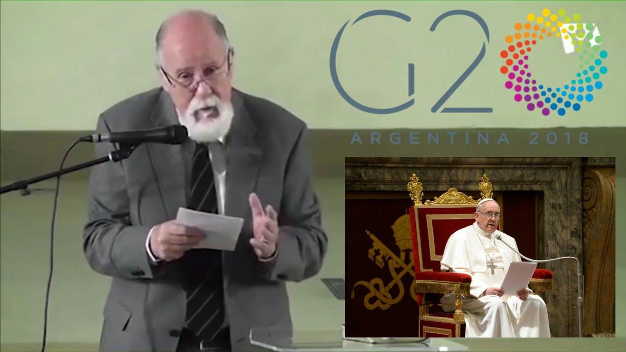 EL PAPA FRANCISCO ELEGIDO COMO LÍDER MUNDIAL POR EL G20