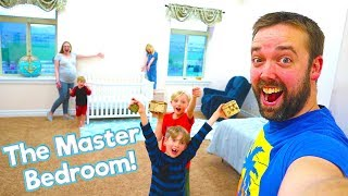 We Found The Master Bedroom! Mr. E Mansion Tour Episode 2! / The Beach House