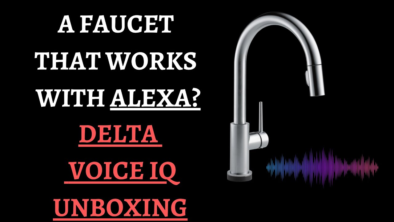 delta voice iq kitchen faucet and give away