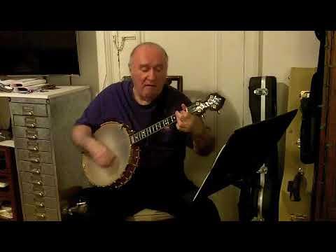 """I Ain't Gonna Give Nobody Jellyroll"" (Woody Allen) Eddy Davis Banjo"