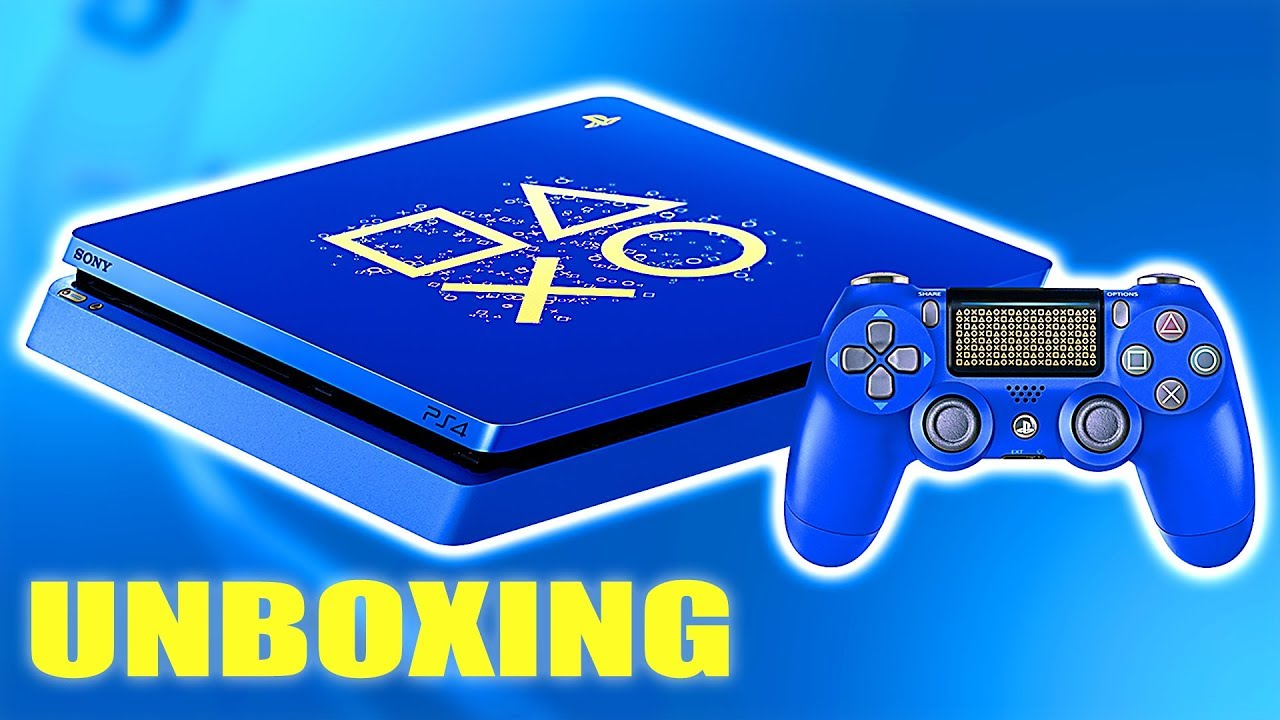 """NEW PS4 Console """"Days of Play"""" Unboxing (Limited Edition)"""