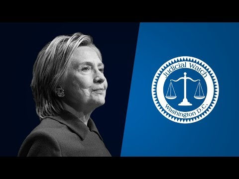 Judicial Watch Uncovers NEW Clinton Emails--Classified Docs & Pay for Play