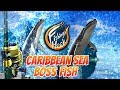 Fishing Hook Gameplay Lv. 50 - Boss Fish at Caribbean Sea - Blue Whale