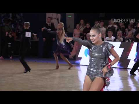Glenn-Richard Boyce - Caroly Janes ENG, Samba | ROC 2018 WDSF Open Youth Latin