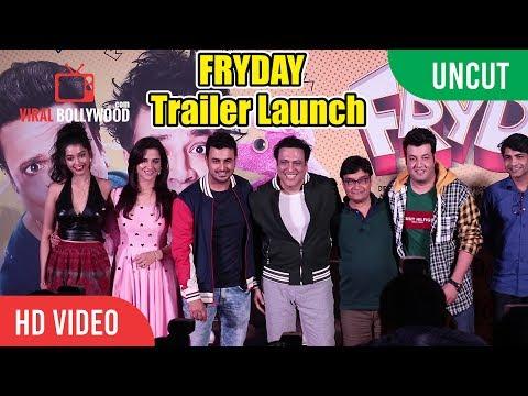 UNCUT  FRYDAY   Launch  Govinda, Varun Sharma, Abhishek Dogra