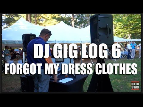 DJ Gig Log 6 | Baron Wedding | Forgot My Dress Clothes