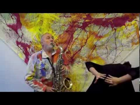 Saxophone and dance play