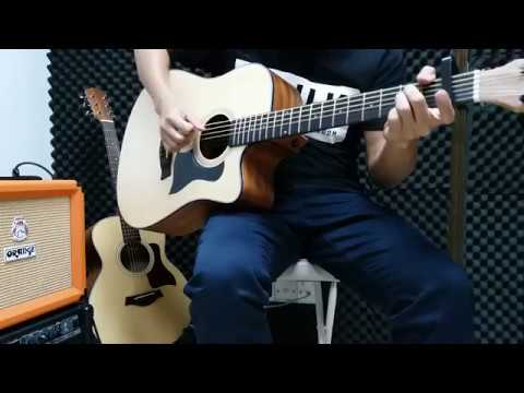 Supper Moment - 風箏 (簡單木結他前奏 Guitar Fingerstyle Intro Cover by Jackson) 結他譜 TAB - YouTube