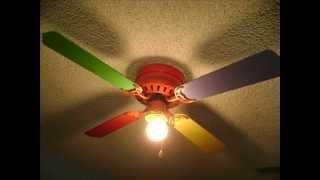 Heritage hugger ceiling fans