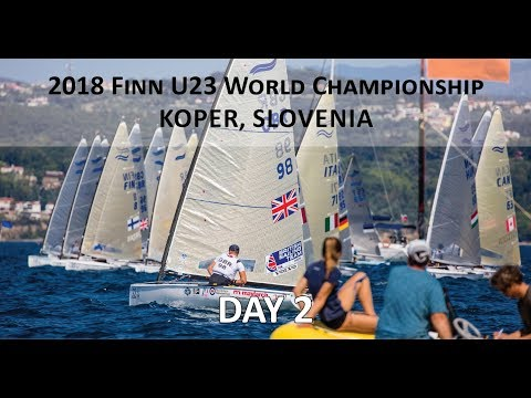Highlights from Day 2 at the U23 Finn World Championship in Koper, Slovenia