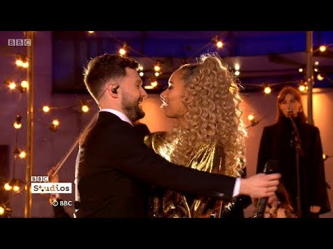 Calum Scott & Leona Lewis – You Are The Reason Live On The One Show +Interview. 14 Feb 2018