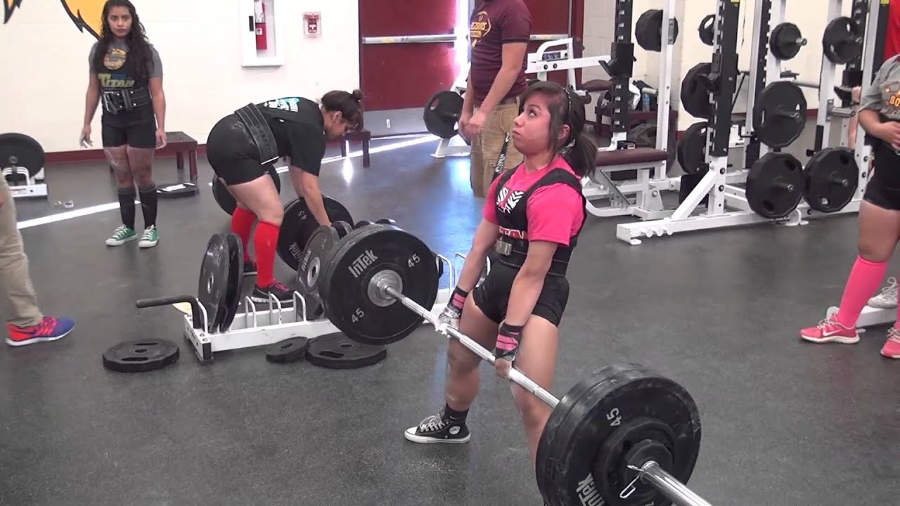 Donna High Girls Powerlifting
