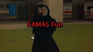 Roblox Phantom Forces - FAMAS Fun