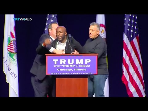 Interview with activist Jedidiah Brown about Donald Trump's Rally in Chicago