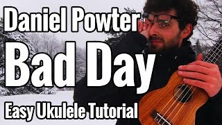 "This is my ukulele tutorial for ""Bad Day"" by Daniel Powter. Downloa..."