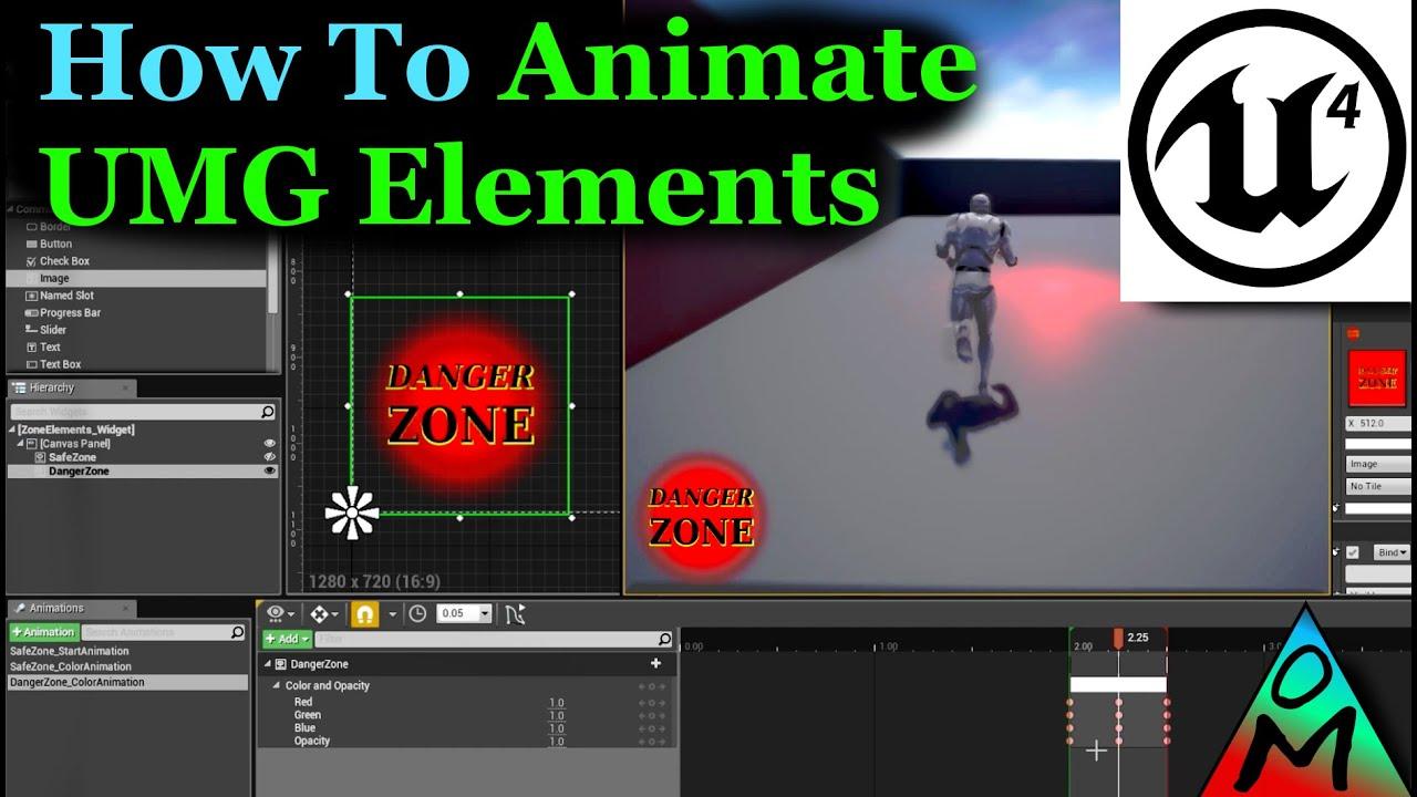 Ue4 Button Press Animation