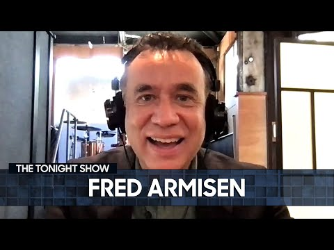 Fred Armisen Shows Off His Newest Impression | The Tonight Show Starring Jimmy Fallon