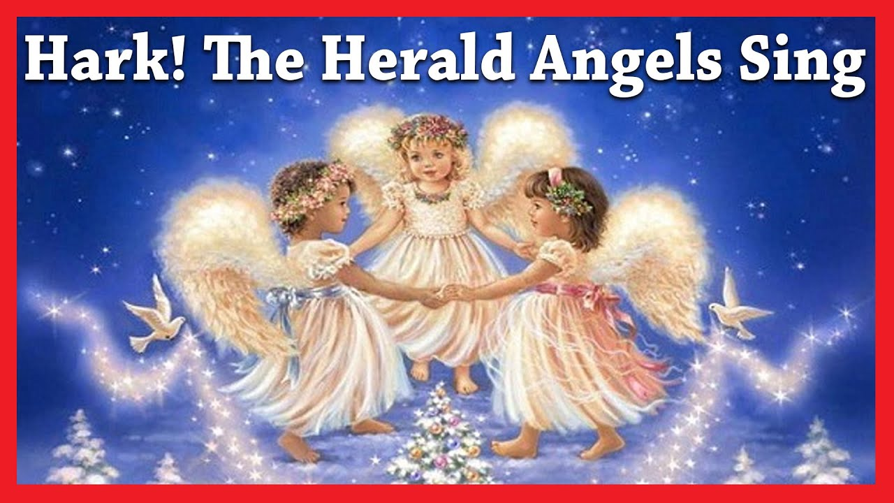 Hark! The Herald Angels Sing | Christmas Songs And Carols For Kids ...