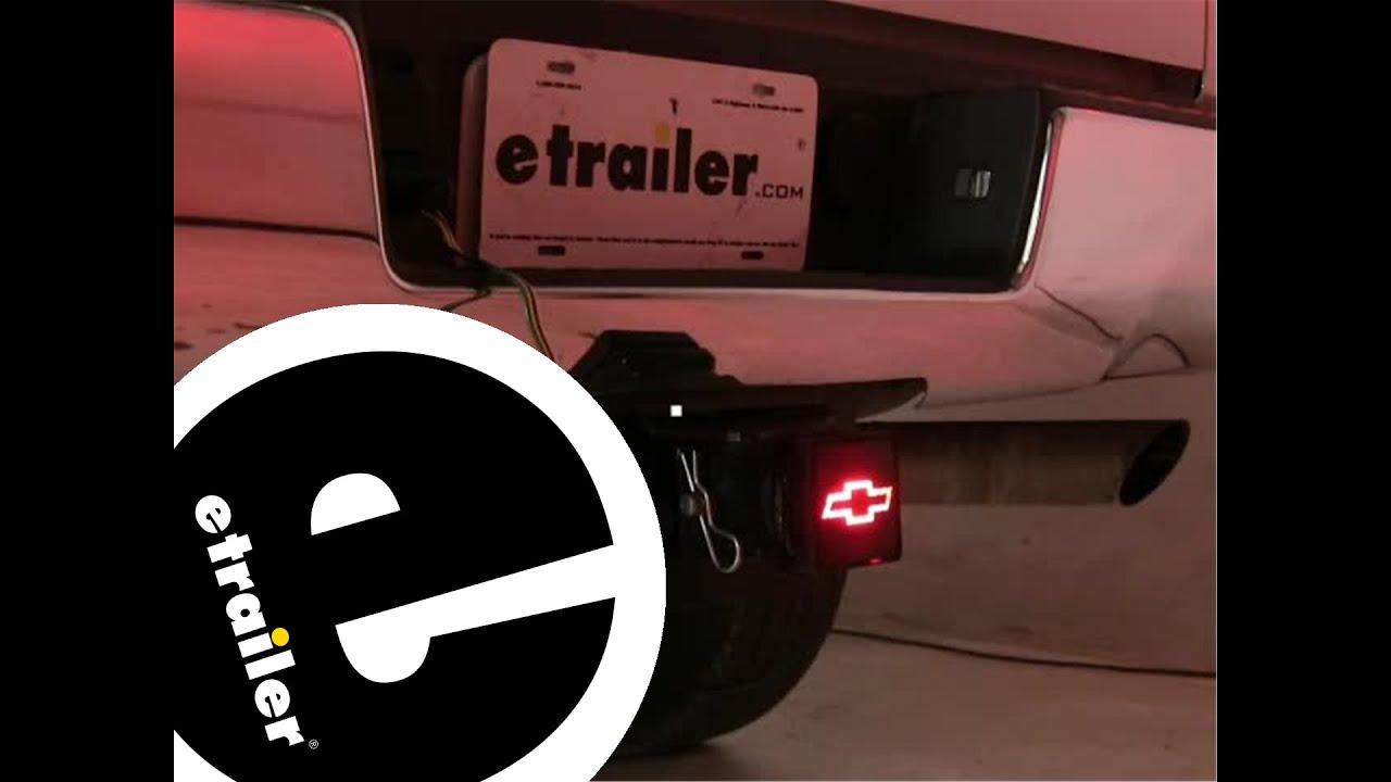 Review of the pilot chevrolet brake light trailer hitch cover etrailer com