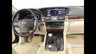 Lexus LS IV Рестайлинг Седан Long 4.6 AT (370 л.с.) 2013 г.