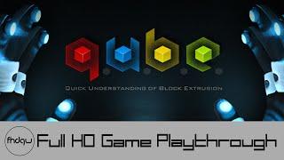 Q.U.B.E. - Full Game Playthrough (No Commentary)