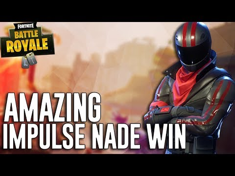 Amazing Impulse Nade Win! – Fortnite Battle Royale Gameplay – Ninja