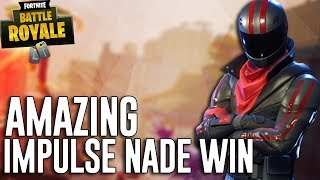 Amazing Impulse Nade Win! - Fortnite Battle Royale Gameplay - Ninja
