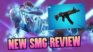NEW SUBMACHINE GUN OP? Fortnite Battle Royale Weapon Review (Fortnite SMG Breakdown/Comparison)