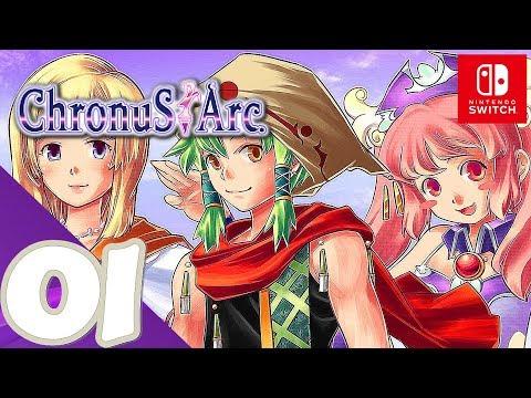 Chronus Arc [Switch] - Gameplay Walkthrough Part 1 - Prologue - No Commentary