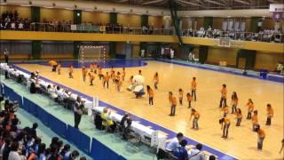 東京国体 ハーフタイムダンス少年女子ハンドボール 2013年 武蔵村山総合体育館 japan dance