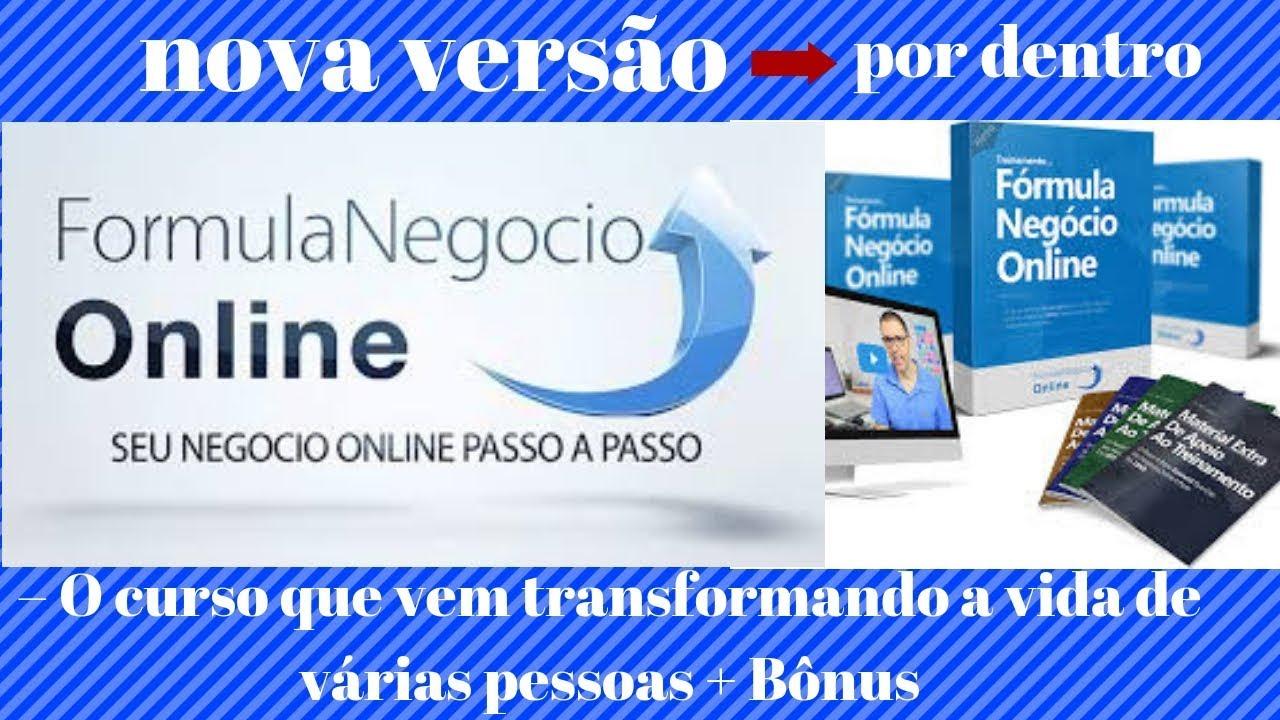 FORMULA NEGOCIO ONLINE ATUALIZADO 2018