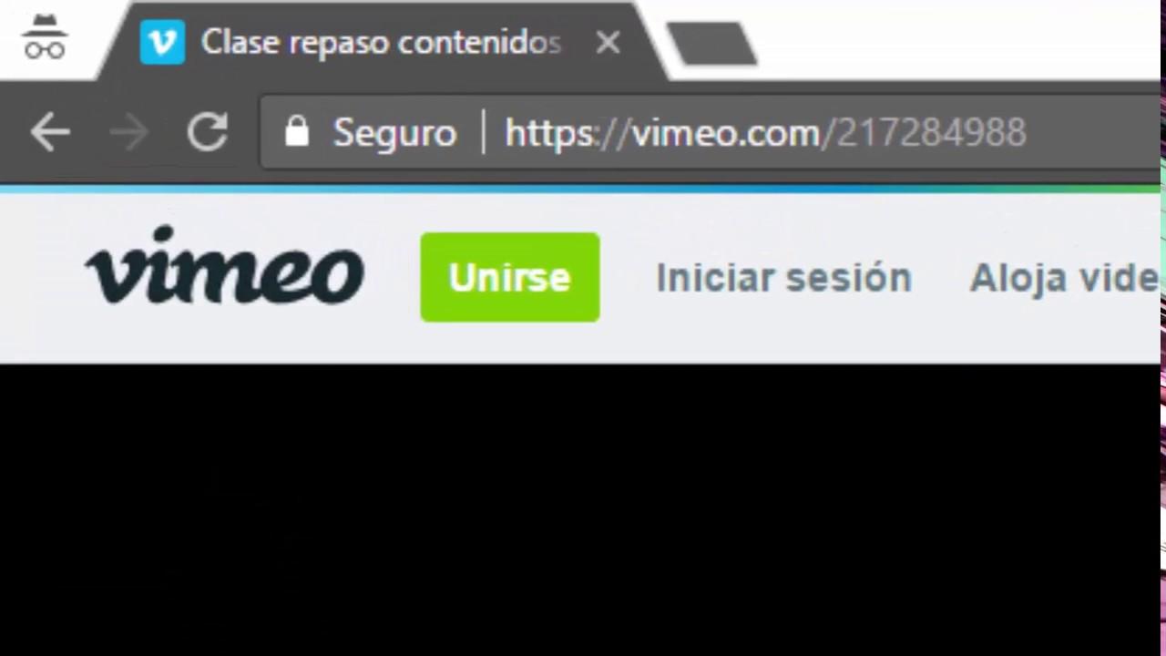 descargar videos privados de vimeo