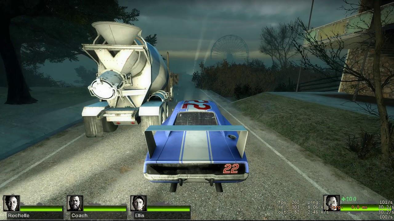 Left 4 Dead 2 Secret Ending (unlocks after 10,000 hours of gameplay)