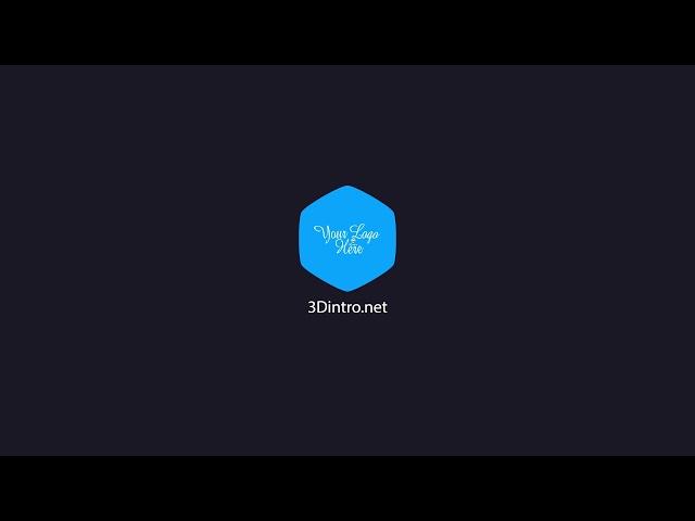 3Dintro.net 278 classic shape logo reveal - 3Dintro.net - Intro Video