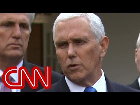 Pence: Pelosi said no to border security and wall