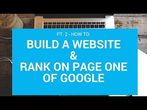 Lawn Care/Landscape Website & SEO Course - Vid 2 (Adding a WordPress Theme & Building First Pages)