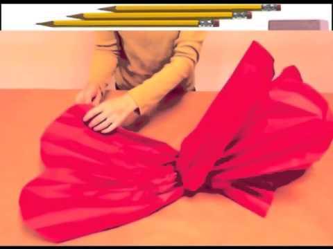 видео: как сделать из бумаги ОГРОМНЫЙ ЦВЕТОК , красивый цветок из бумаги