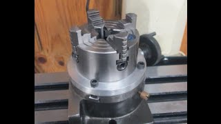 Rotary Table Chuck Mount