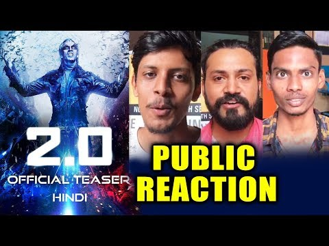 LIVE - 2.0 Teaser 3D PUBLIC REACTION | Akshay Kumar | Rajinikanth