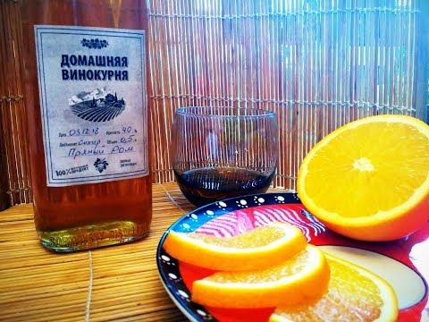 Как из спирта сделать ром в домашних условиях