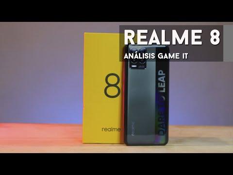 Realme 8 #review completa en español   GameIt ES